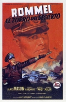 The Desert Fox: The Story of Rommel - Spanish Movie Poster (xs thumbnail)