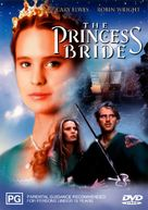 The Princess Bride - Australian DVD cover (xs thumbnail)