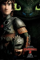 How to Train Your Dragon 2 - Thai Movie Poster (xs thumbnail)