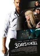 Three Days to Kill - German Movie Poster (xs thumbnail)