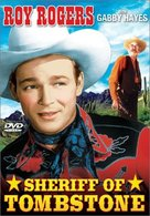 Sheriff of Tombstone - DVD cover (xs thumbnail)
