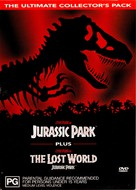 The Lost World: Jurassic Park - Australian DVD movie cover (xs thumbnail)