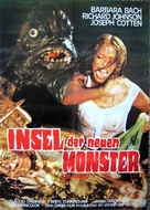 The Island of the Fishmen - German Movie Poster (xs thumbnail)