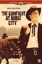 The Gunfight at Dodge City - British Movie Cover (xs thumbnail)