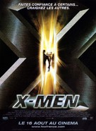 X-Men - French Movie Poster (xs thumbnail)