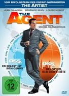 OSS 117: Rio ne repond plus - German DVD cover (xs thumbnail)