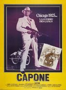 Capone - French Movie Poster (xs thumbnail)