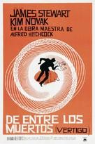 Vertigo - Argentinian Movie Poster (xs thumbnail)