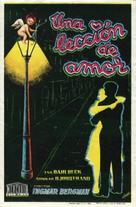 Lektion i kärlek, En - Spanish Movie Poster (xs thumbnail)