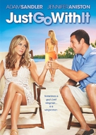 Just Go with It - DVD cover (xs thumbnail)