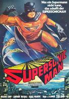 Supersonic Man - German Movie Poster (xs thumbnail)