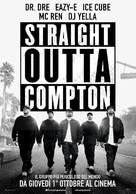 Straight Outta Compton - Italian Movie Poster (xs thumbnail)