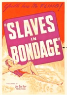 Slaves in Bondage - Movie Poster (xs thumbnail)