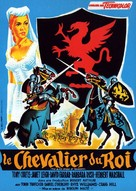The Black Shield of Falworth - French Movie Poster (xs thumbnail)