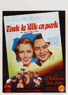 The Whole Town's Talking - Belgian Movie Poster (xs thumbnail)