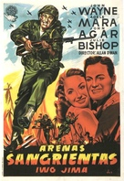 Sands of Iwo Jima - Spanish Movie Poster (xs thumbnail)