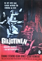 Two on a Guillotine - Swedish Movie Poster (xs thumbnail)