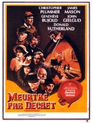 Murder by Decree - French Movie Poster (xs thumbnail)