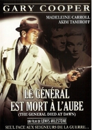 The General Died at Dawn - French DVD cover (xs thumbnail)