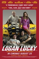 Logan Lucky - British Movie Poster (xs thumbnail)