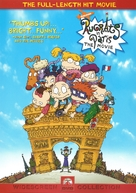 Rugrats in Paris: The Movie - Rugrats II - DVD movie cover (xs thumbnail)
