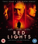 Red Lights - British Blu-Ray movie cover (xs thumbnail)