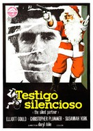 The Silent Partner - Spanish Movie Poster (xs thumbnail)