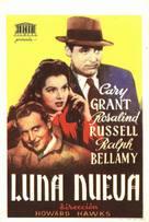 His Girl Friday - Spanish Movie Poster (xs thumbnail)