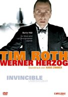 Invincible - German DVD cover (xs thumbnail)