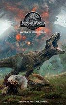 Jurassic World: Fallen Kingdom - Panamanian Movie Poster (xs thumbnail)