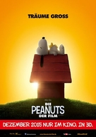 The Peanuts Movie - German Movie Poster (xs thumbnail)