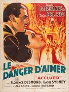 Accused - French Movie Poster (xs thumbnail)