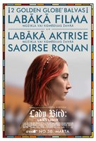 Lady Bird - Latvian Movie Poster (xs thumbnail)