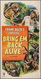 Bring 'Em Back Alive - Movie Poster (xs thumbnail)