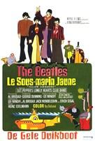 Yellow Submarine - Belgian Movie Poster (xs thumbnail)
