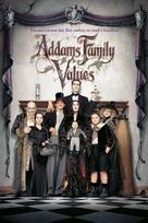 Addams Family Values - Danish Movie Cover (xs thumbnail)