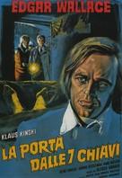 Tür mit den 7 Schlössern, Die - Italian Movie Poster (xs thumbnail)