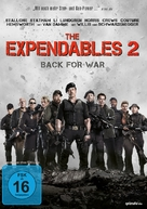 The Expendables 2 - German DVD cover (xs thumbnail)