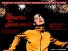 Les amants du Pont-Neuf - British Movie Poster (xs thumbnail)