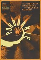 Le mépris - Czech Theatrical movie poster (xs thumbnail)