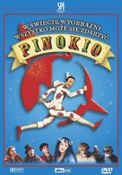 Pinocchio - Polish DVD cover (xs thumbnail)