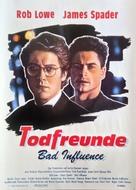 Bad Influence - German Movie Poster (xs thumbnail)