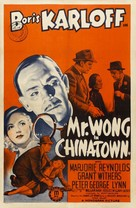 Mr. Wong in Chinatown - Movie Poster (xs thumbnail)