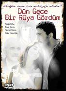 Dün gece bir rüya gördüm - Turkish DVD cover (xs thumbnail)