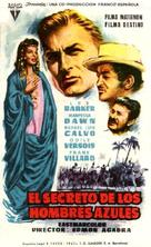 El secreto de los hombres azules - Spanish Movie Poster (xs thumbnail)