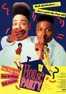 House Party - German Movie Poster (xs thumbnail)