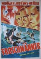 The Frogmen - German Movie Poster (xs thumbnail)