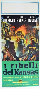 The Jayhawkers! - Italian Movie Poster (xs thumbnail)