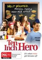Ten Inch Hero - Australian DVD cover (xs thumbnail)