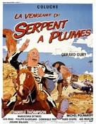 La vengeance du serpent à plumes - French Movie Poster (xs thumbnail)
